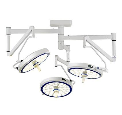 Đèn phẫu thuật treo trần 3 nhánh, đèn LED SLK-111C Sturdy